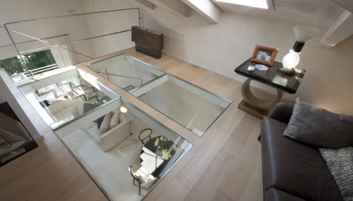 Vetro calpestabile per pavimenti in vetro