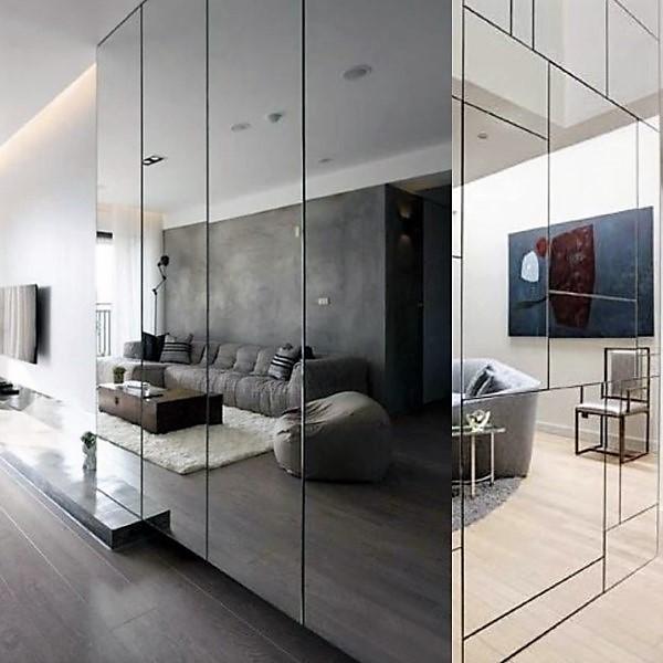 Come estendere lo spazio in casa usando gli specchi.