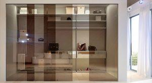 Quali vetri usare per la cabina armadio
